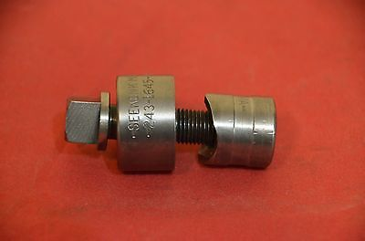 "Seekonk Usa 3/4"" Diam. Round Conduit Knockout Punch And Die 243-1645"