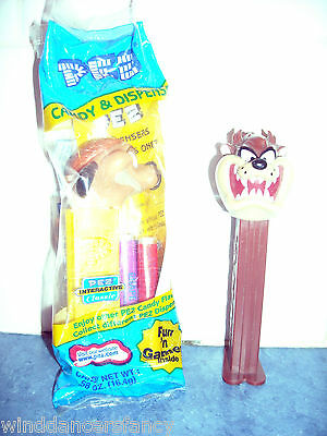 PEZ LOT TAZ TASMANIAN DEVIL LOONEY TUNES & NIP TIMON MEERKAT LION KING w. CANDY