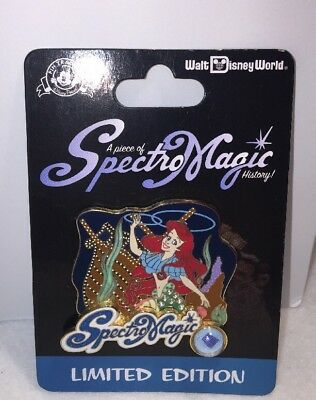 Disney Little Mermaid Piece of Disney History Ariel Spectro Magic Le Pin