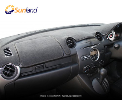 Sunland Dashmat fits TOYOTA KLUGER (GSU45R/GSU40R - 8/07 to 2/14) - Black fit...
