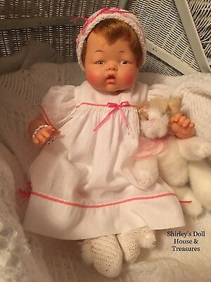 Vintage Antique Ideal 60's OTT-16 THUMBELINA Baby Doll Rare cooer WORKS  Clean