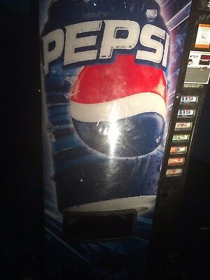 PEPSI Dixie Narco DN276E Bottle and Can Soda Machine~FREE FREIGHT IN CANADA
