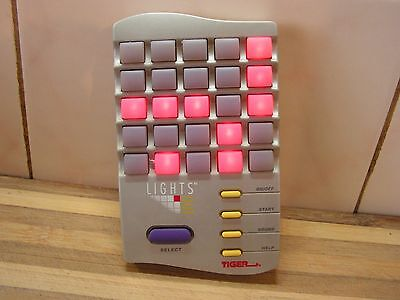 Vintage Game Lights Out, Tiger, Rare Collectable, VGC