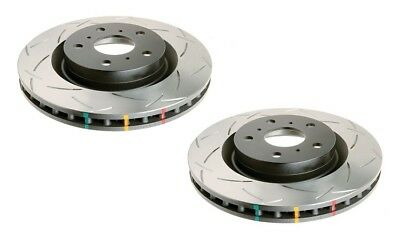 DBA Front 4X4 T3 Slotted Brake Rotor Pair DBA4087S fits Land Rover Defender 2...