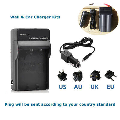 Home &Car Charger for Canon BP-511a EOS 40D 30D 20D 300D 5D 50D Battery