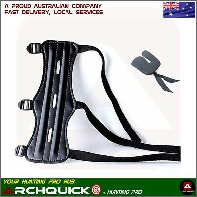 Archery Wrist Arm Guard Finger Tab Kit Compound Bow Recurve Bow Arm Protection