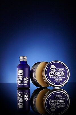 Beard Balm, Beard Oil, Beard Conditioner, Beard Care Pack by INFAMOUS GENTLEMAN
