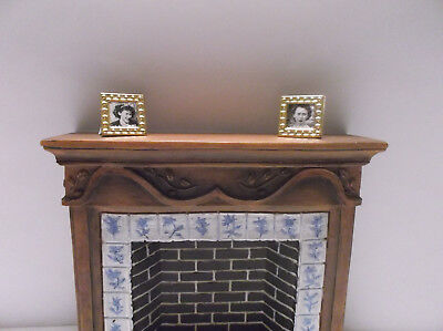 Miniature Doll Home TIny Framed Pictures