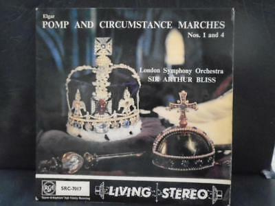 """LSO SIR ARTHUR BLISS """" POMP AND CIRCUMSTANCE  """" E.P. EX+ COND.IN Or.PIC SL."""