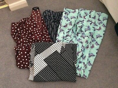 Maternity dress bundle  (4) - size 10, various makes. See separate photos.
