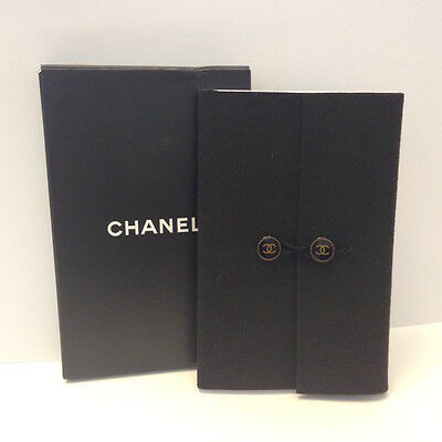 Authentic CHANEL Small  Notebook Note Pad Collectible VIP Limited NIB