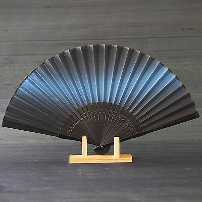Japanese fan/silk-fabric/sensu/yuzen in kaga/kyoto/traditional-craft