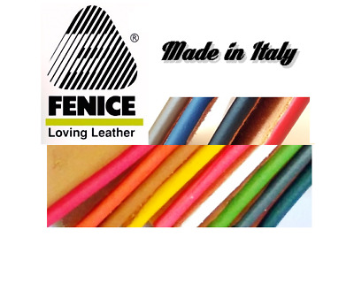"Leather edge paint ""Fenice""  paint offers a pleasing finish Black or White"