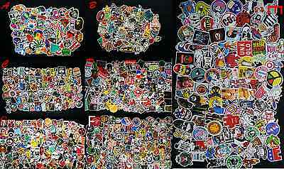 100PC Random Vinyl Decal Graffiti Sticker Bomb Laptop Waterproof Stickers Skate