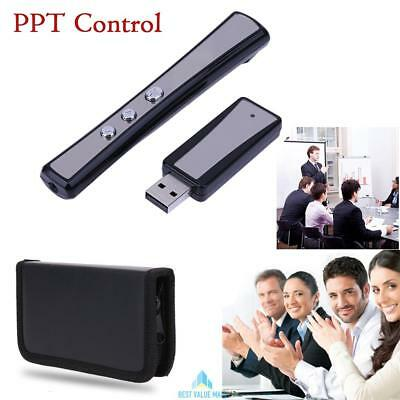 USB Wireless Remote PPT Control Clicker RC Pointer Training Presentation Lecture