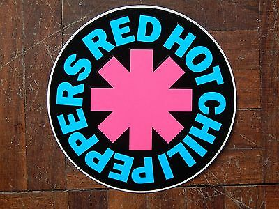 Red Hot Chili Peppers sticker Rare - Vintage - 1989