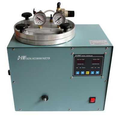 Digital Vacuum Wax Injector Jewelry Casting Machine for Jeweler Tools 110V Y