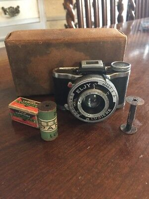 Rare Vintage Eljy Lumiere Miniature Spy Camera