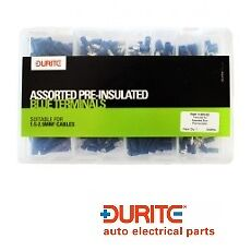 Durite 0-203-02, Assorted Box Of Pre-insulated Blue Terminals