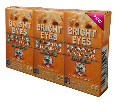 *** Eye Drops for Pets - Ethos NAC Cataract Eye drops - Authorised Reseller.***