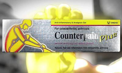 Counterpain PLUS Anti Inflammatory Analgesic Gel Pain Relief 50 gram tube