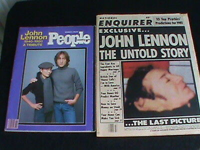 John Lennon 1940-1980( People's  Plus The last picture(National Enquirer)