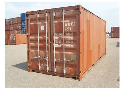 20 ft lagercontainer materialcontainer seecontainer. Black Bedroom Furniture Sets. Home Design Ideas