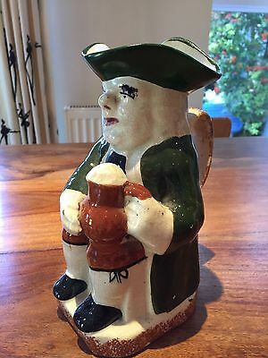 Large Unmarked Victorian Toby Jug - Excellent condition