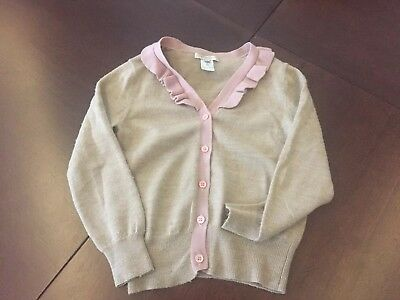 Caramel Baby And Child Cardigan Size 8 Excellent Condition