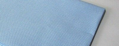 ZWEIGART 14 count AIDA Cross Stitch Fabric   Sky Blue   12 inches x 10 inches