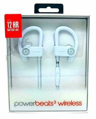 100% Genuine Beats By Dre Power beats 3 Wireless Sports Earphones Headset White