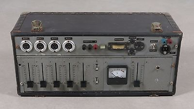 Telefunken V-600 rare vintage 60's German microphone mixer for project or spares