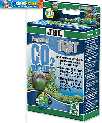 JBL CO2 Plus pH Permanent Test / Wassertest / Dauertest / Direktmessung NEU OVP