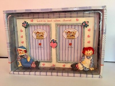 raggedy ann and andy picture frame  90 Years  Edition