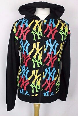 Vintage New York Yankees Baseball Jacket Hoody Tracksuit Top Majestic Mens 36""