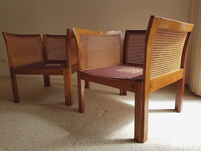 Danish Mid-century Modern, Illum Wikkelso Plexus Easy Chairs (a pair)