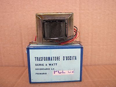 Trasformatore D'uscita Pcl82 2W 3900 Ohm  Single Ended Nos