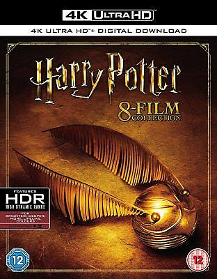 Harry Potter - Complete 8-Film Collection 4K UHD +Blu-ray (Blu-ray)