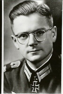 Ww2 Schweres Jaeger Major Durrwanger Knights Cross Smolensk Moscow Signed Foto