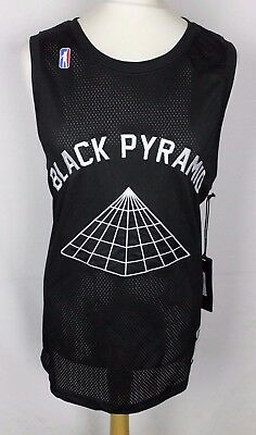 Bnwt Black Pyramid Los Angeles Basketball Jersey Mens 2Xl 2015-16 New Rare