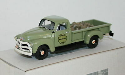 Unknown Manufacturer - 1/43 Scale Resin - Chevrolet 3800 1 Ton Pick Up 1955 -Grn