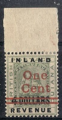British Guiana. 1890.  Local Surcharge.  SG210.  Mint.