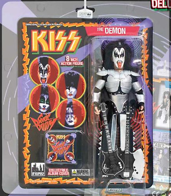 "KISS 8 Inch Action Figure ""The Demon"" Deluxe Edition Gene Simmons"
