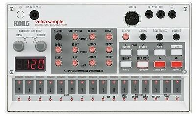 Korg Volca Sample Digital Sampler Sequencer Rhythm Machine Japan With Tracking