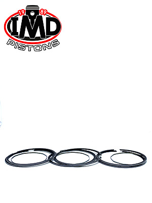 Kawasaki H2 NEW STANDARD (71mm) PISTON RING SETS (3) OEM 13008-042 KH750 Triple