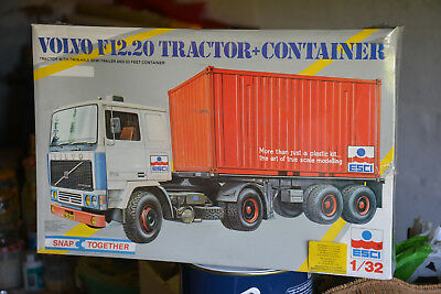 Volvo F12.20 Tractor + Container