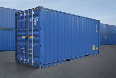 20 ft HighCube Lagercontainer / Seecontainer / Container, Lieferung / 20 Fuß HC