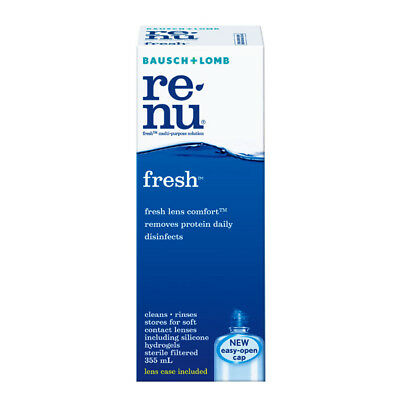 renu fresh Multi Purpose Solution for contact lens by Bausch + Lomb 355ml