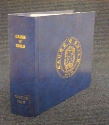 Gauge O Guild Gazette Magazine Complete Volume 8 Issues 1 to 12 Model Railway