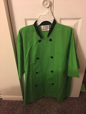 Green Chef Jacket Size Medium